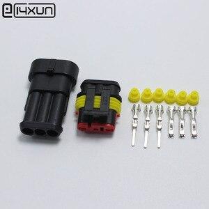 Image 1 - 60 ensembles DJ7031 1.5 connecteur de fil électrique étanche 3 P mâle et femelle connexion Automobile pour voiture ect