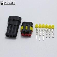 60Sets DJ7031 1.5 Waterdichte Elektrische Draad Connector 3 P Mannelijke & Vrouwelijke Auto Aansluiting Voor Auto Ect