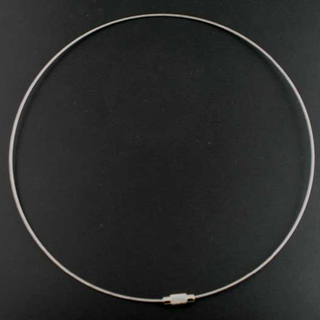 Silver Wired  Smart Choker Necklace for Women