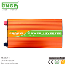 5000W 10000W peak DC 24V 48V 96V to AC 220/230/240V off grid pure sine wave solar inverter