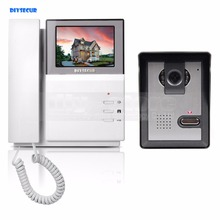 DIYSECUR 4.3inch Video Intercom Video Door Phone Doorbell 1 Camera 1 Monitor for Home / Office Security System