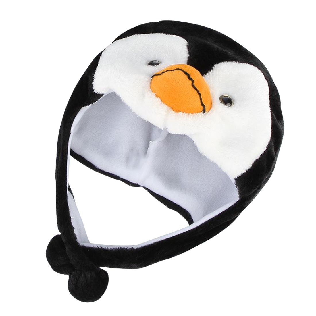 Russia Penguin Earmuffs 1PCS Cartoon Animal Penguin Mascot Plush Warm Cap Hat Warmer New