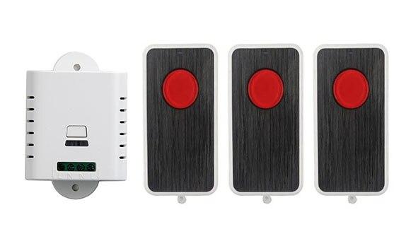 AC85V 110 V 120 V 220 V 250 V RF Sistema de Interruptor de Control Remoto 3X tra