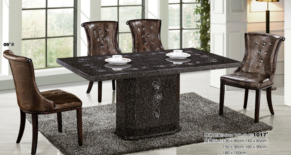 Hot Sale Modern Dining Room Set Wooden Table