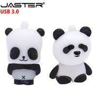 JASTER USB 3.0 free shipping panda USB lash drive memory stick pen drive u disk 4GB16GB 32GB 64GB Real capacity free shipping|USB Flash Drives| |  -