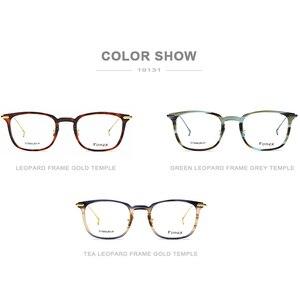 Image 5 - FONEX lunettes optiques en acétate de titane