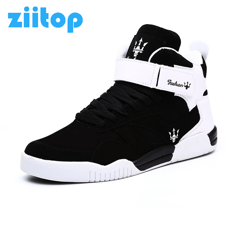 Ziitop 2017 Flat Sport Shoes Men High Top Running Shoes For Men Lace up Outdoor Walking Sneakers Men Zapatillas Hombre Deportiva