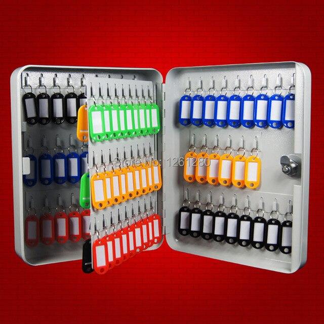 metal key box toolcase Storage Bins key management box key cabinet with 105  key cardsOffice Hotel