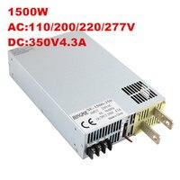 1500w power supply 150V 200V 250V 300V 350V DC 0 5V analog signal control 0V adjustable power supply ac to dc