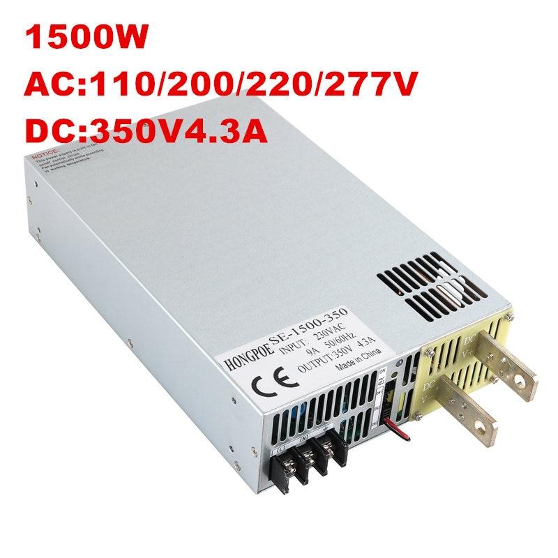switching power supply 150V 200V 250V 300V 350V 1500w ac to dc power supply 110VAC 200VAC 220VAC 277VAC INPUT tdc1230 400w 200 250v input ac dc power switching adapter power supply for balance charger