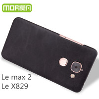 Le Max 2 Case MOFi Original LeEco Letv Max 2 X820 Back Cover Hard PU Leather