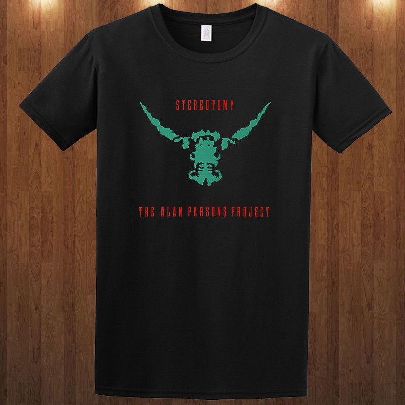 The Alan Parsons Project tee progressive <font><b>rock</b></font> S-3XL <font><b>T</b></font>-<font><b>Shirt</b></font> Alan Parsons New Mens Spring Summer <font><b>Dress</b></font> Short Sleeve <font><b>t</b></font> <font><b>shirt</b></font> image