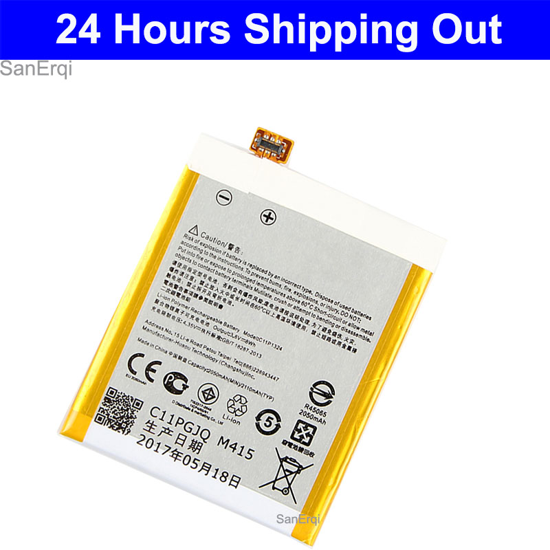 New C11P1324 battery for <font><b>ASUS</b></font> <font><b>ZenFone</b></font> <font><b>5</b></font> A500G Z5 A500 <font><b>A500CG</b></font> <font><b>A501CG</b></font> A500KL battery 2050mAh image