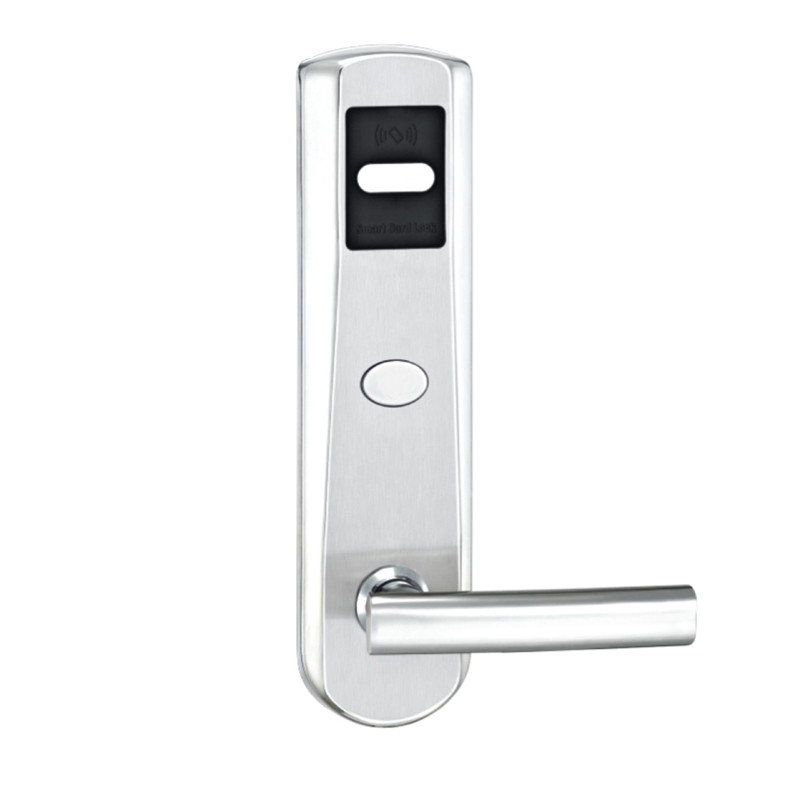 Electronic RFID Card Door Lock with Key Electric Lock For Home Hotel Apartment Office Latch with Deadbolt lkA620BS hotel lock system rfid t5577 hotel lock gold silver zinc alloy forging material sn ca 8037