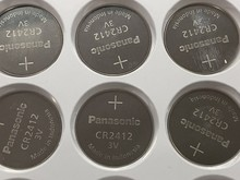 50pcs/lot Panasonic CR2412 3V Lithium Coin watch Key Fobs Battery Batteries Cell For swatch LEXUS Car Controller