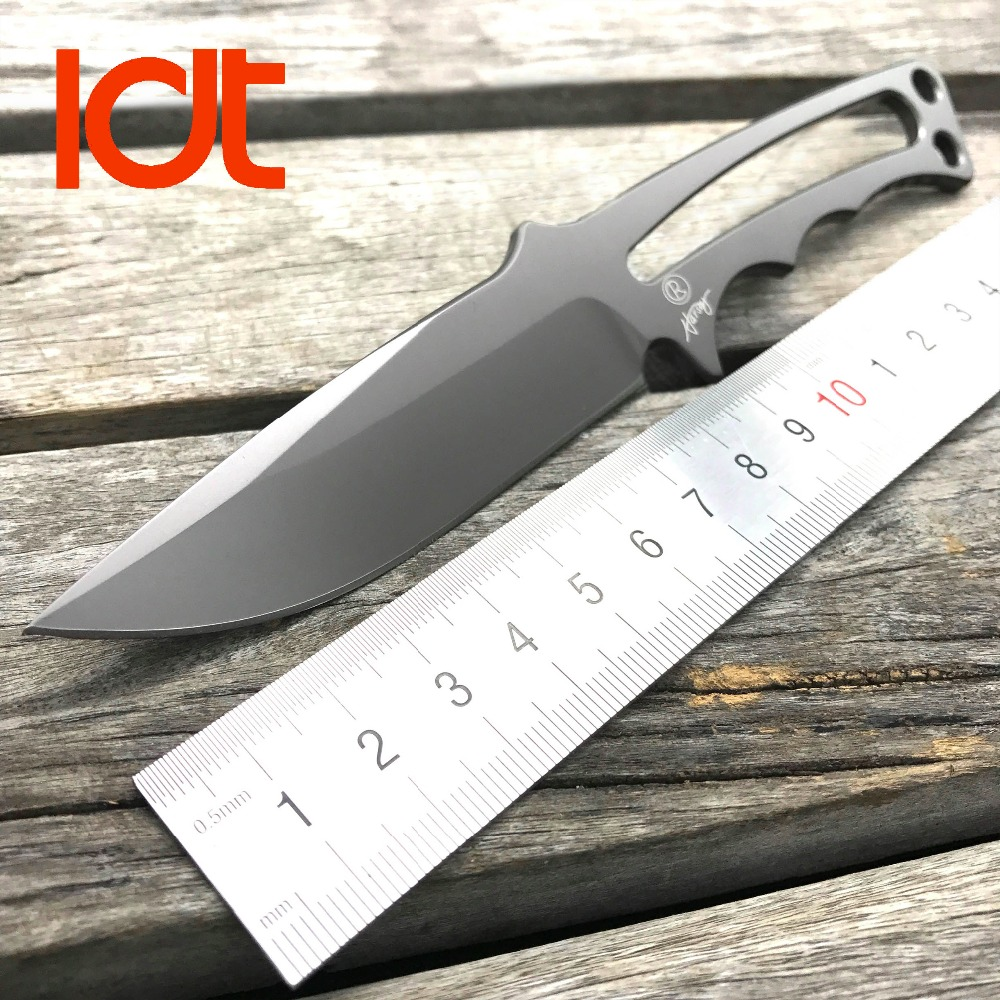 LDT Chris Reeve Fixed Blade Knife CPM S35VN Blade Combat Tactical Camping Survival Knives Hunting Military