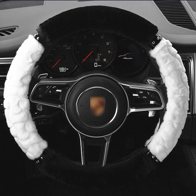 TENGRUI Car Steering Wheel Cover for citroen c5/c4 picasso/C4 All Model Wheel Covers Steering Wheel direksiyon seti araba jant