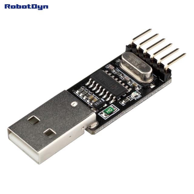 USB naar TTL UART CH340-Serial Converter, 5 v/3.3 v-Universele. Niet nodig switching. IC CH340G