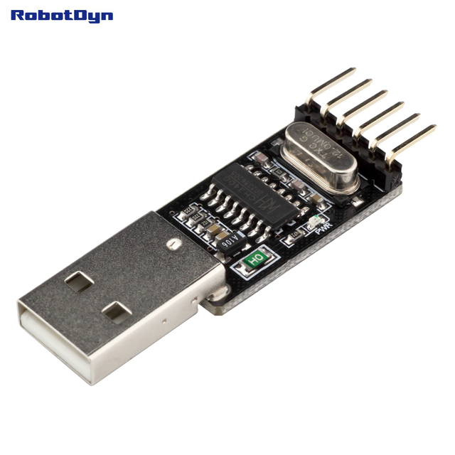 USB to TTL UART CH340 - Serial Converter, 5V/3.3V - Universal. Not need switching. IC CH340G