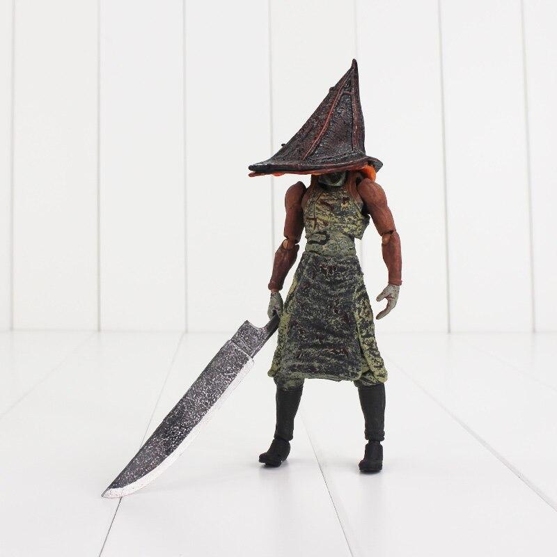 18cm Silent Hill 2 aksiyon figürü kırmızı piramit şey SP-055 SP 055 kılıç silah modeli oyuncaklar