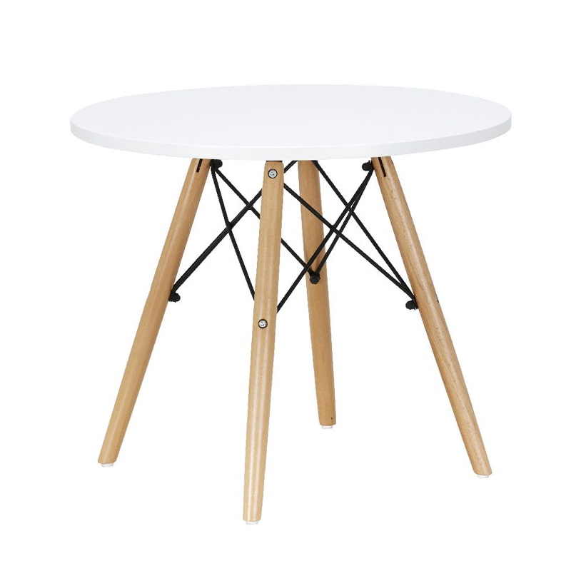 Charming Kids Table Modern Classic Baby Dining Table MDF Baby Play Leisure Table  Children Study Table With