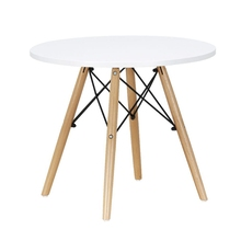 Kids Table Modern Classic Baby Dining Table MDF Baby Play Leisure Table  Children Study Table With