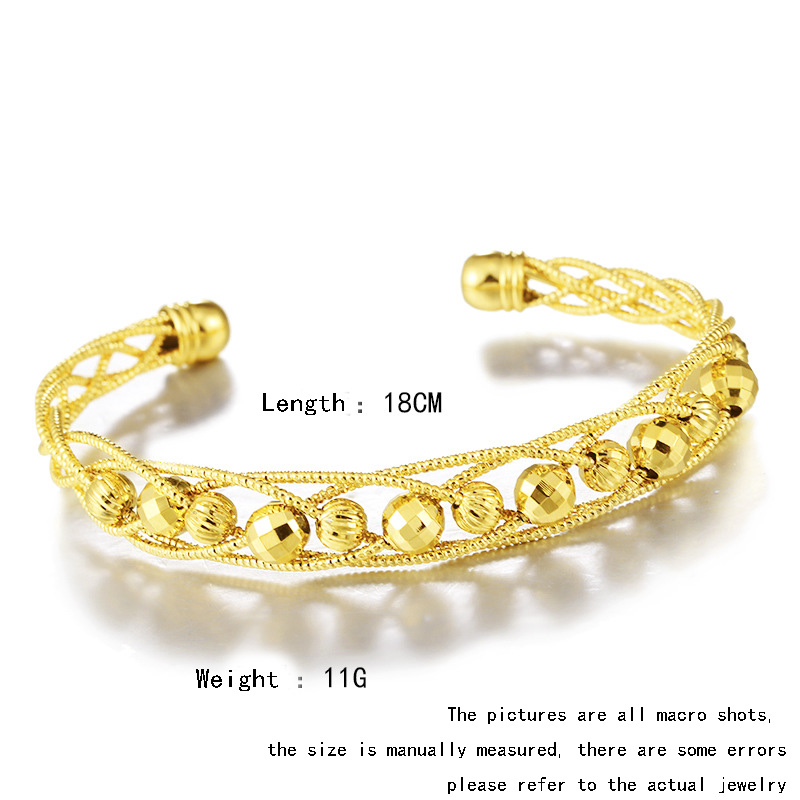 2018 New Fashion Design Gold Jewelry Bangle Indian Women Birthday Party Anniversary Gift Jewelry Accessories Buy At The Price Of 13 58 In Aliexpress Com Imall Com