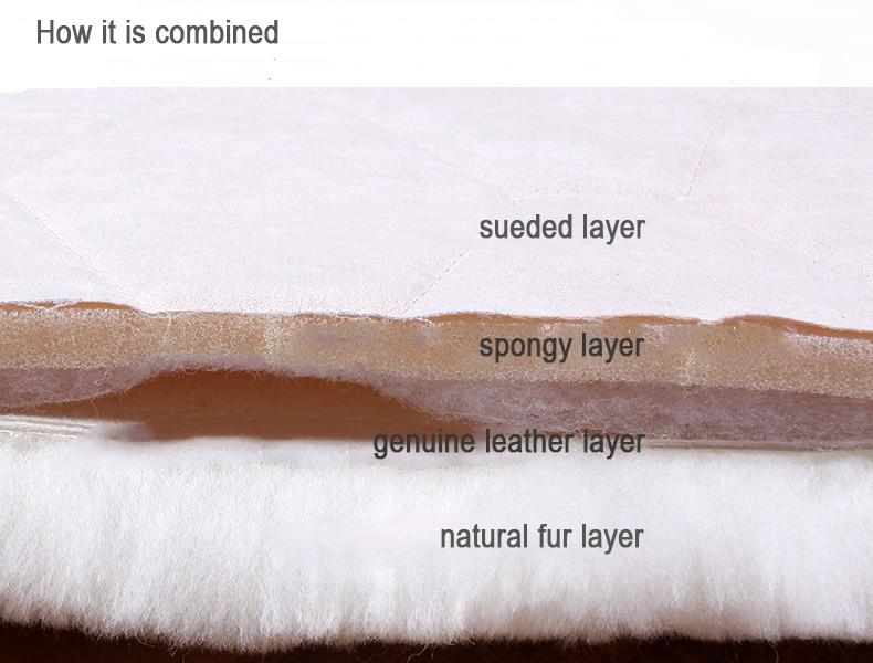 Натуральный коврик из овечьего меха лохматый коврик для стула, большой размер круглая подушка для сиденья, мех кофе Ковер Напольный коврик, зимний теплый коврик