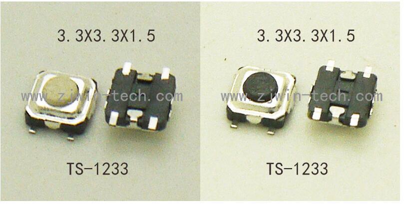 10PCS Micro Pulsanti SMD 3x4x2.5mm Push Button riparazioni Switch PCB 3x4x2.5 mm