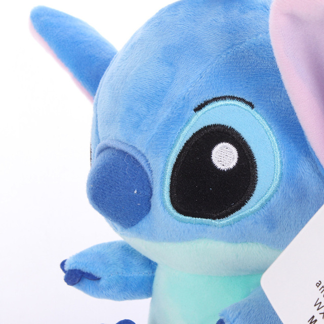 1PC Cartoon Stitch Lilo & Stitch Plush Toy Doll Children Stuffed Toy For Baby Kids Birthday Christmas Children Kid Gifts 3
