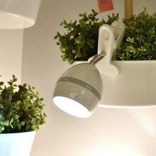 LED Клип Лампы Творческий Настольные Лампы с Зажимом Батарейках Настольные Лампы Крытый Аварийное освещение