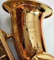 SELMER Mark VI High Quality Alto E flat Saxophone Professional Musical Instrument Brass Gold Plated Sax & Case Free