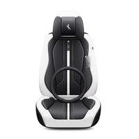Полный Объемный дизайн спортивные подушки износостойкие кожаные черные красные синие белые автомобильные чехлы для сидений LEXUS, RX, ES, CT, GX по