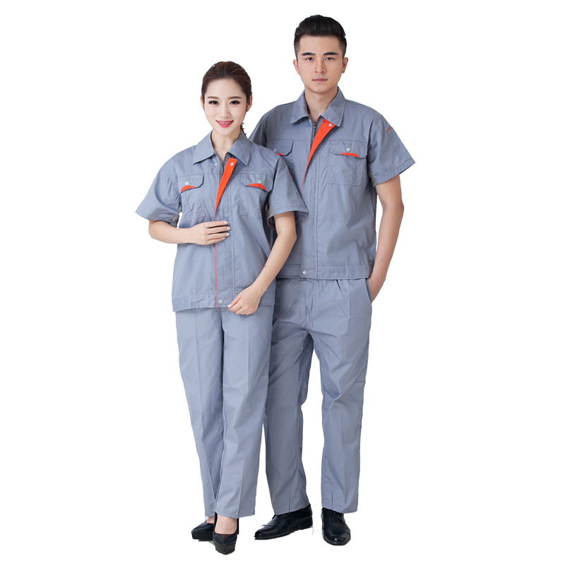 Men Work Clothing short Sleeve Women Coveralls High Quality Unisex Overalls Worker Repairman Machine Auto Repair Plus Size цены онлайн