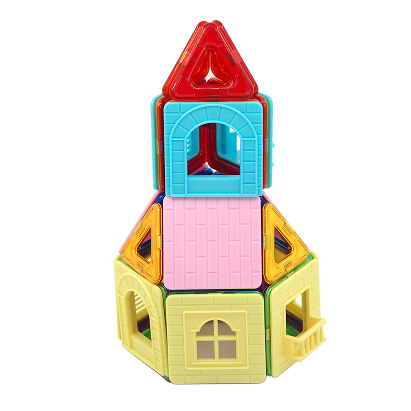 Aocoren Kids Toys 31pcs Magformers Magnetic Creator Designer Building Bricks Toys 3d Diy Building Blocks For