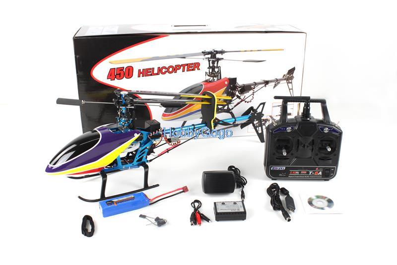 XYH 450 Standard RTF Electric Helicopter Left hand throttle Skyblue 6Ch 2.4G Full Set 3D Aircraft фото