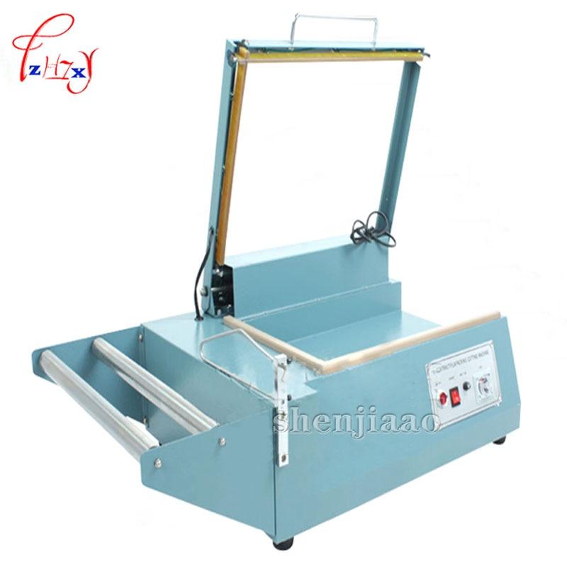 Manual sealing machine sleeve plastic wrapping bag sealer, shrink film sealing machine, PVC plastic sealer, l-type side sealant pallet wrapping sealing machine with sealer