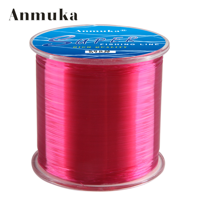 Anmuka 500M nylon line fishing line Super Fly carp line fishing line monofilament fish Fishing Tackle