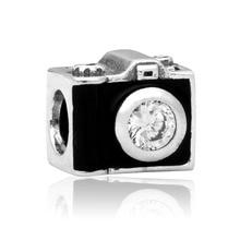 plata de ley 925 beads black camera big hole Bead charm  llaves antiguas anclas para hacer pulseras beads ENM229 отсутствует floresta de rimas antiguas castellanas p 1