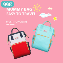AAG Multifunction Mummy Bag Baby Diaper Travel Backpack Large Maternity Nappy Changing Infant Nursing Bags Reusable