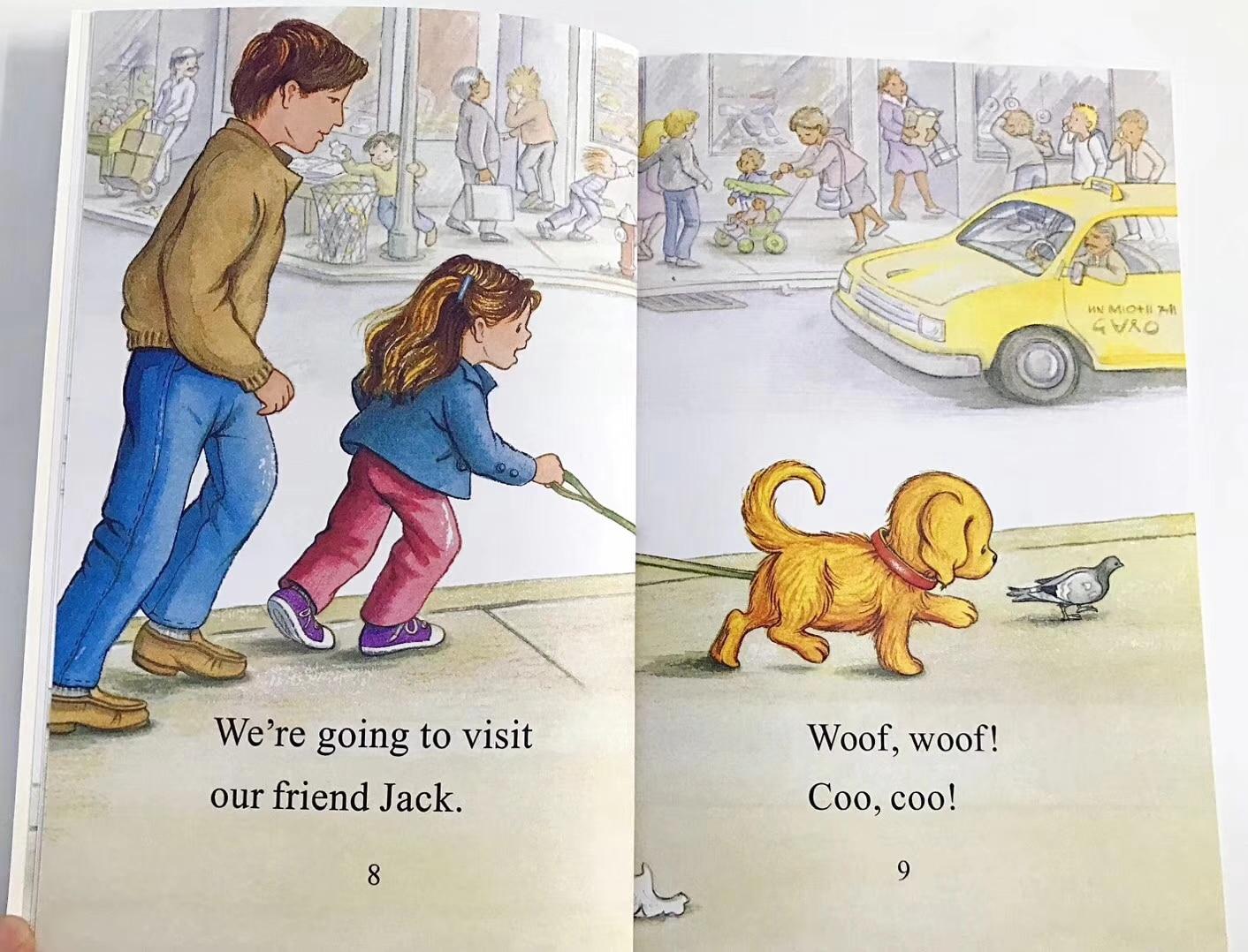 18 livres/Set + 2 pièces CD Biscuit Série D'images Anglais Livres Enfants Je Peux Lire Histoire Livre de Lecture Educaction pour Enfants Montessori - 5