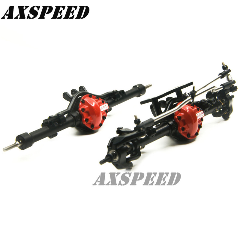 1SET ARB Edition Complete Alloy Front & Rear Axle For RC4WD D90 1/10 RC Crawler цена