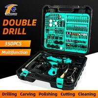 Dremel Power Tools Electric Grinding Machine Mini Engraving Pen 220V Electric Drilling Machine For Dremel Polishing Accessories