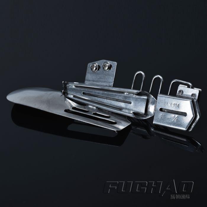 Double wrap dossier RUBAN 2-1/8 --- 3/4 hemmer Utilisé pour 2 ou 3 aiguille point de recouvrement machine dossier 104 D'exportation 1.9 cm