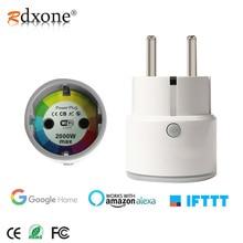 16A/10Aスマートプラグソケット、認定と互換性アレクサ、googleホーム、唯一のwifi 2.4グラム