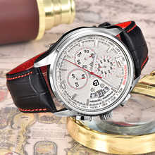 Men Watches PAGANI DESIGN Luxury Brand Multifunction Men Chronograph Casual Sport Watches Leather Quartz Watch Relogio Masculino