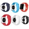 Для Apple watch Band 42 мм Корреа Спорта Силикона Адаптер Браслет для iWatch Ремешок Группа Серии 2 и Серии 1