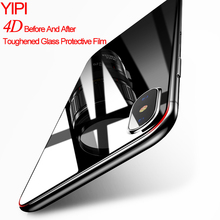 ФОТО yipi for iphonex tempered glass explosion proof screen protector hd high quality film 9h strong back protect for iphone x