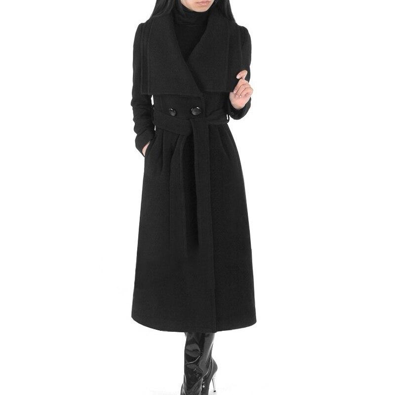 Survêtement Livraison Ultra Laine Femelle Pardessus De Mince Gratuite Femmes Longues Cachemire 8q4x8FCw