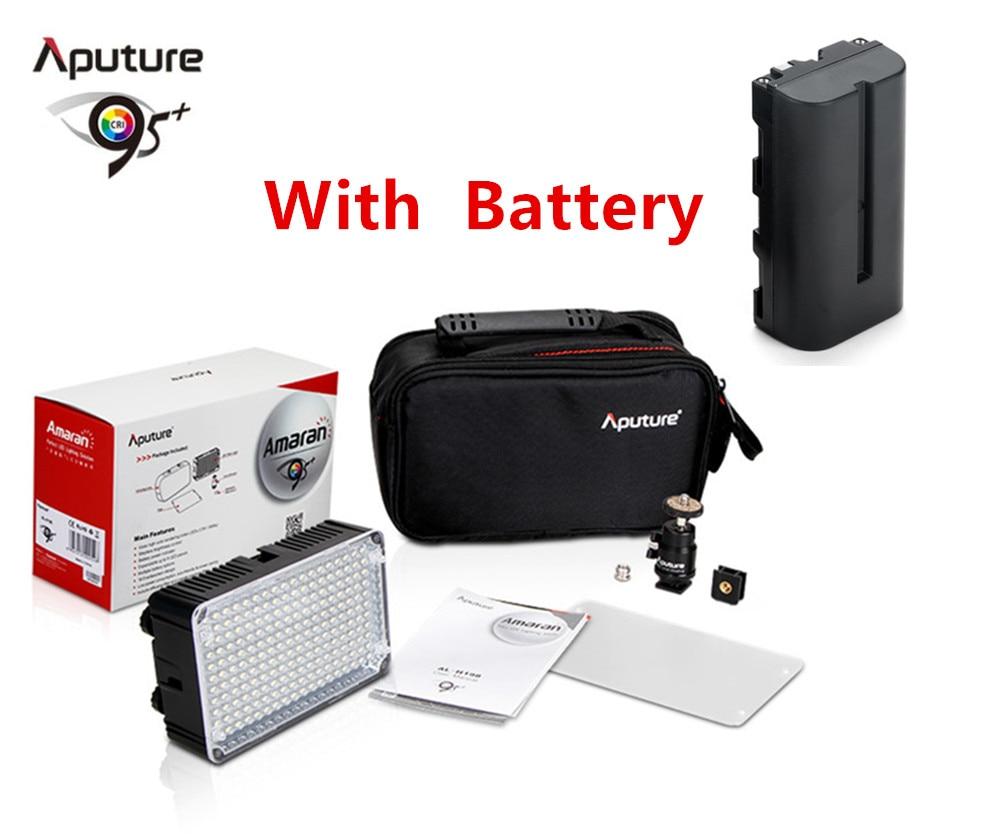 Aputure Amaran AL H198C LED Video Light Camera lighting Color Temperature Adjustment for Canon Nikon Sony Camcorder AL-H198C